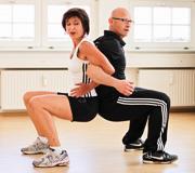 Training mit dem Partner von ami.go Professional Training