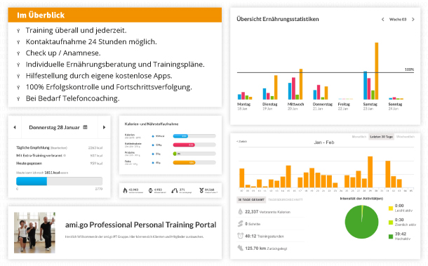 Online Personal Training von ami.go Professional Personal Training